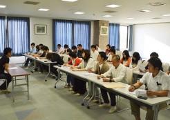 社員旅行中の勉強会
